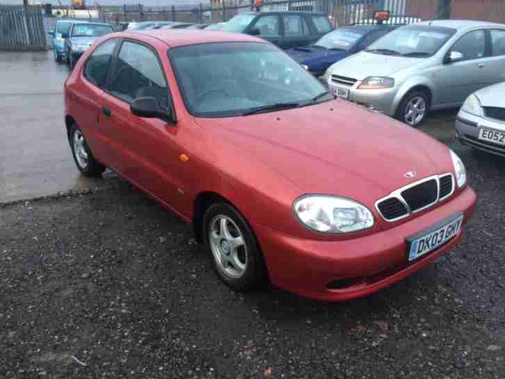 2003 03 Lanos 1.4 LONG MOT HPI CLEAR