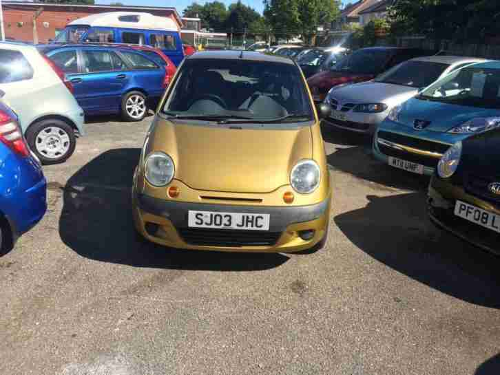 2003 03 Matiz 0.8 SE For sale @ West