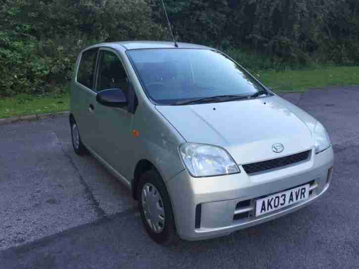2003 03 Daihatsu Charade 1.0 EL Petrol Part Ex To Clear