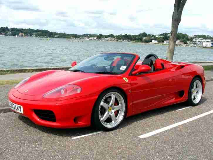 2003 (03) 360 SPIDER F1 CONVERTIBLE