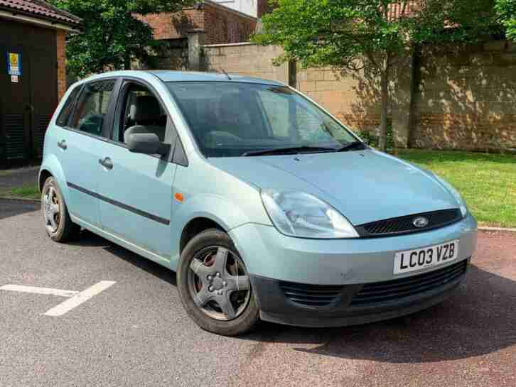 2003 03 FORD FIESTA 1.3 LX IDEAL FIRST