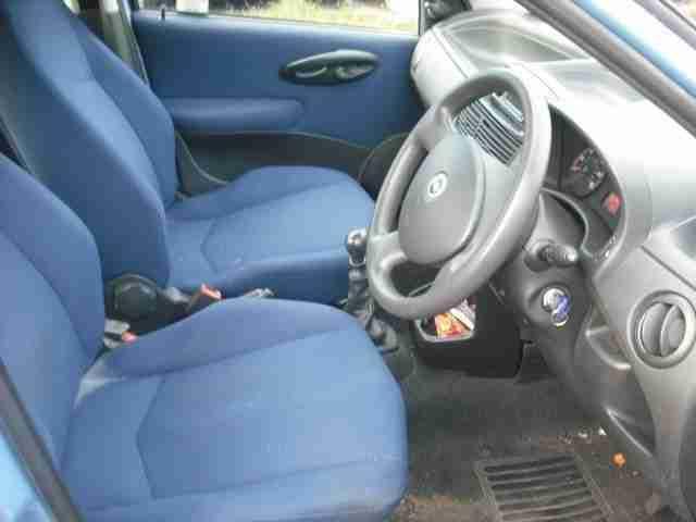 Fiat 2003(03) Punto Active 1.2 MANUAL 5 doors Hatchback. car for sale