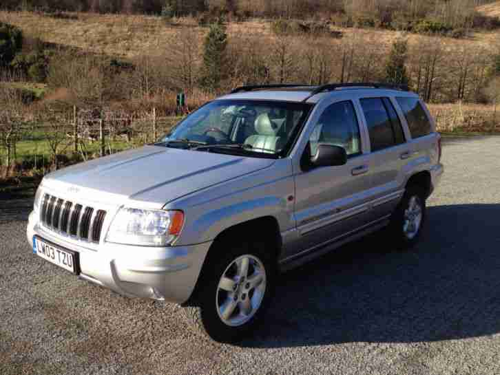 2003 03 GRAND CHEROKEE 4.0 LIMITED 5D