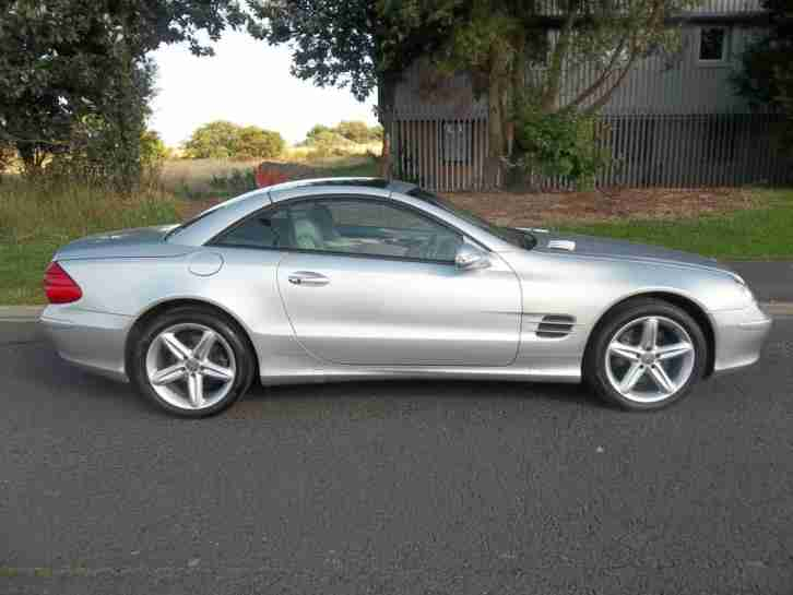 Mercedes benz 2003 03 sl 500 70000 miles convertable nice for Nice mercedes benz cars