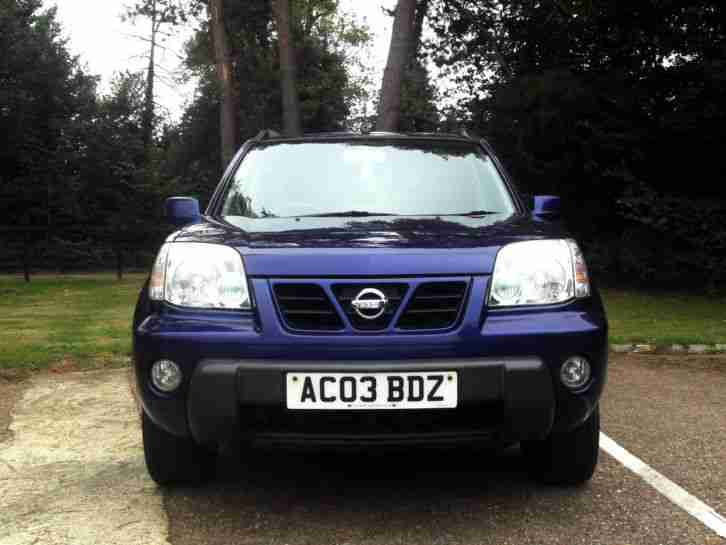 2003 03 NISSAN X-Trail 2.2Di SPORT 4WD TURBO DIESEL 6 SPEED MANUAL PX SWAP SWOP