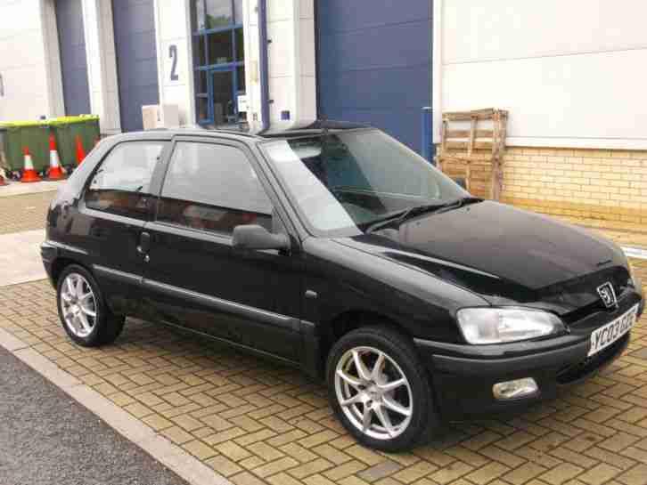 peugeot 2003 03 106 1 1 independence black car for sale. Black Bedroom Furniture Sets. Home Design Ideas