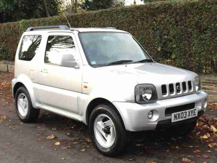2003 03 JIMNY 1.3 SPECIAL LOW MILEAGE
