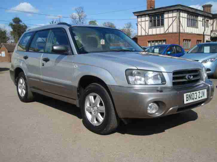 2003 03 Forester 2.0 ( Allweather ) X