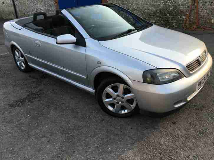 2003 '03' Vauxhall Astra 1.8 Cabriolet. Sport. Convertible. Px Swap