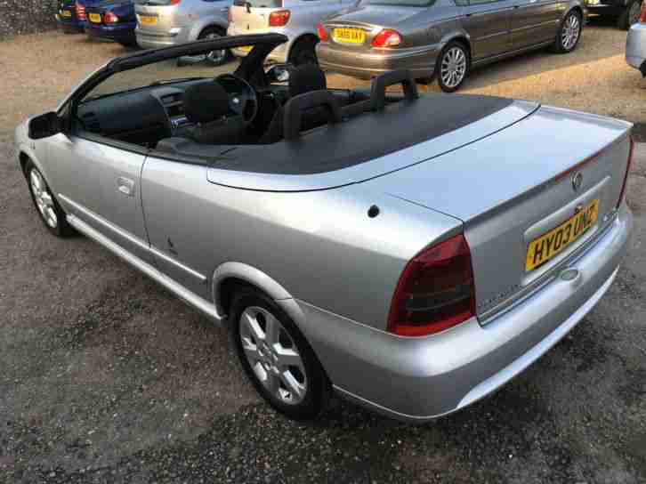 2003 39 03 39 vauxhall astra 1 8 cabriolet sport convertible px swap. Black Bedroom Furniture Sets. Home Design Ideas