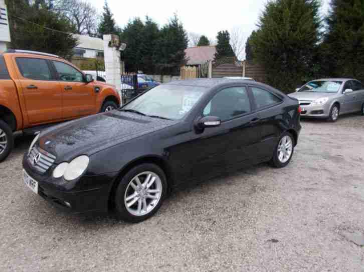 Mercedes benz 2003 03 reg c180 kompressor 1 8 auto 2003my for Mercedes benz kompressor for sale