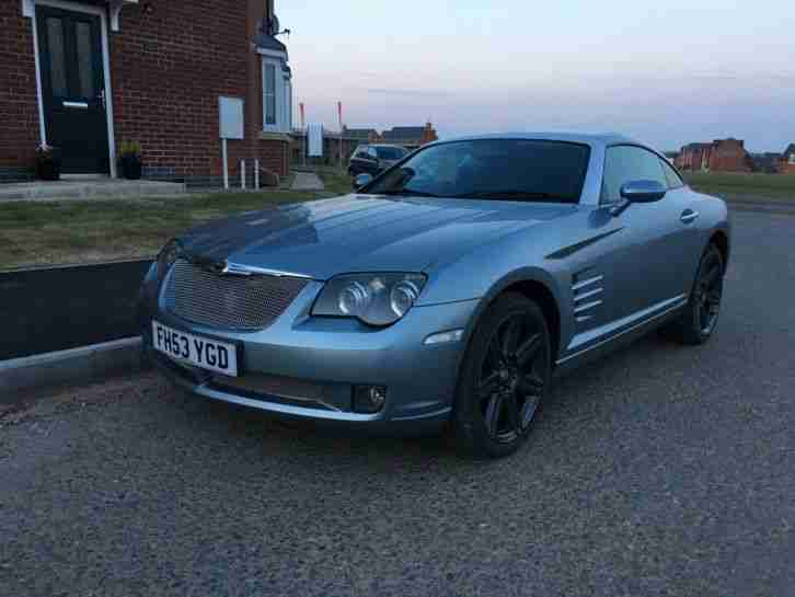 2003 3.2 V6 CHRYSLER CROSSFIRE AUTO BLUE