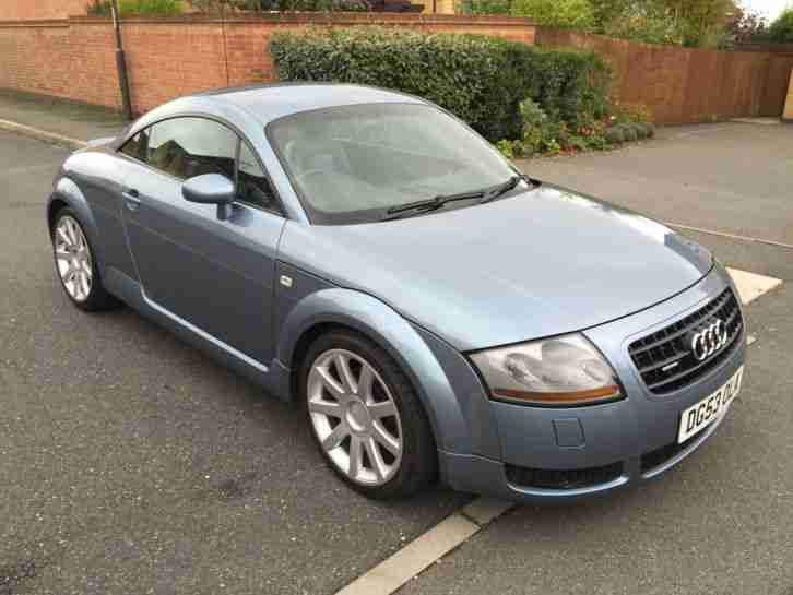 audi 2003 53 tt coupe 1 8 t quattro 225 bhp leather only 77k miles. Black Bedroom Furniture Sets. Home Design Ideas