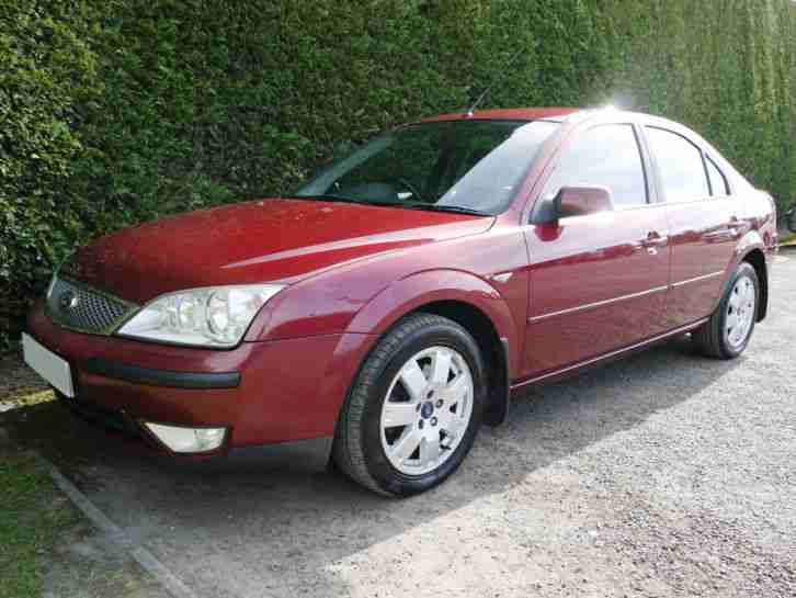 2003 53 FORD MONDEO ZETEC 2.0 TDCI MANUAL 5 DOOR HATCHBACK LONG MOT.