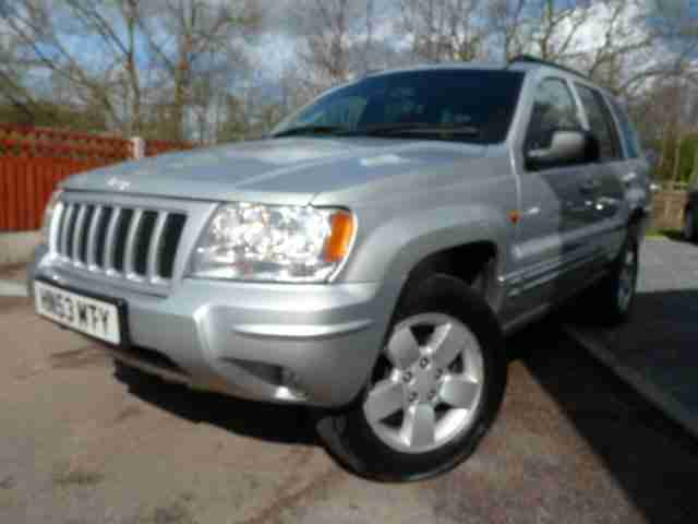 2003 53 JEEP GRAND CHEROKEE 2.7 LIMITED CRD 5D AUTO 161 BHP DIESEL