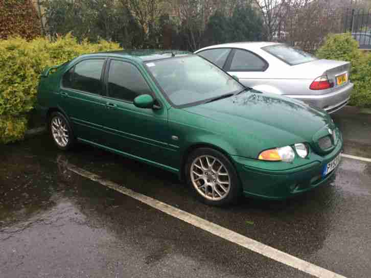 2003 53 MG/ ZS 2.0 TD + 5 DOOR.BRITISH RACING GREEN.LOW MILEAGE.TIMING BELT@49K.