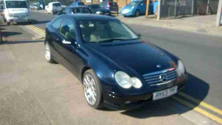 2003 53 Mercedes Benz C320 3.2 SE coupe MANUAL!! RARE CAR LOVELY CONDITION