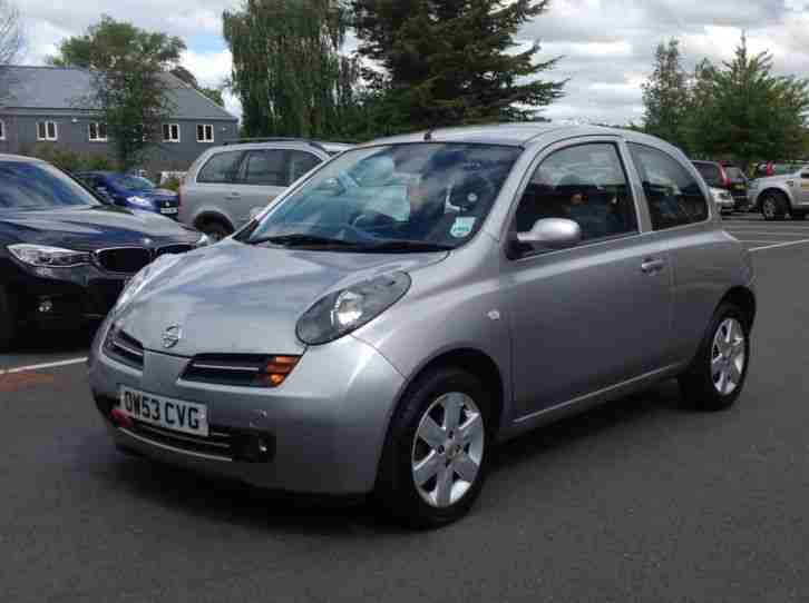Nissan micra 2003 owners manual