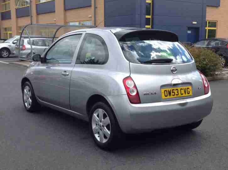 2003 53 NISSAN MICRA 1.2 SX 3 DOOR IN SILVER