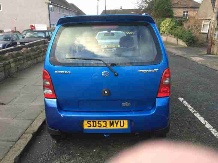 2003 53 SUZUKI WAGON R 1.3 SPECIAL IN BLUE.GREAT COLOUR.FULL MOT.ANY PX WELCOME.