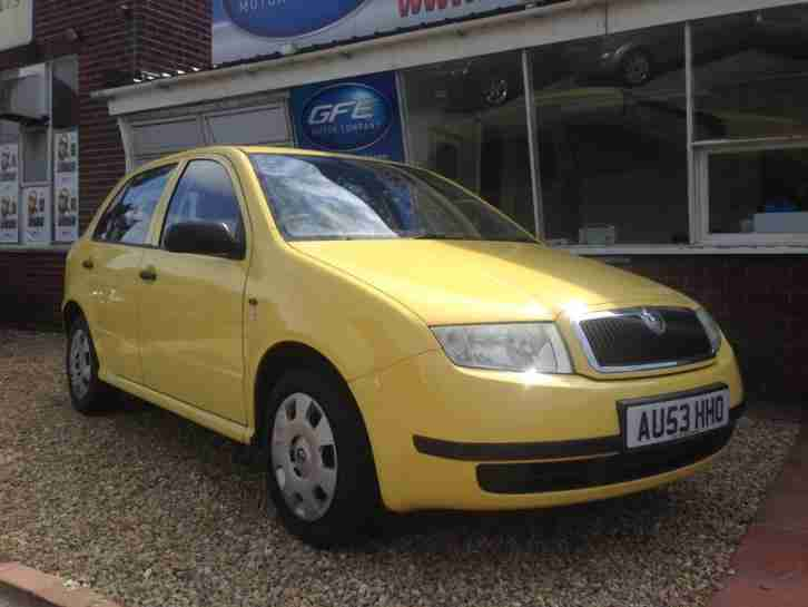 2003 53 Skoda Fabia 1.2 HTP Classic 1 FAMILY OWNER FROM NEW, SERVICE HISTORY