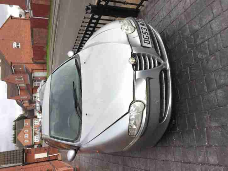 2003 ALFA ROMEO 147 Cat C SALVAGE DAMAGED REPAIR NOT BREAKING SPARES OR REPAIR