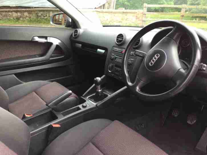 2003 AUDI A3 SPORT TDI BLACK 1 OWNER FROM NEW !!!!!!!