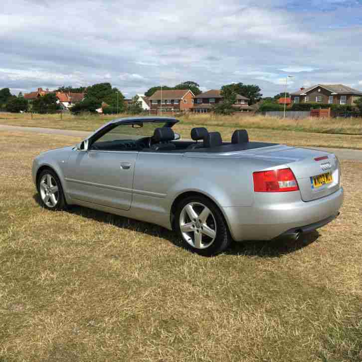 Audi 2003 A4 SPORT CABRIOLET SILVER. Car For Sale