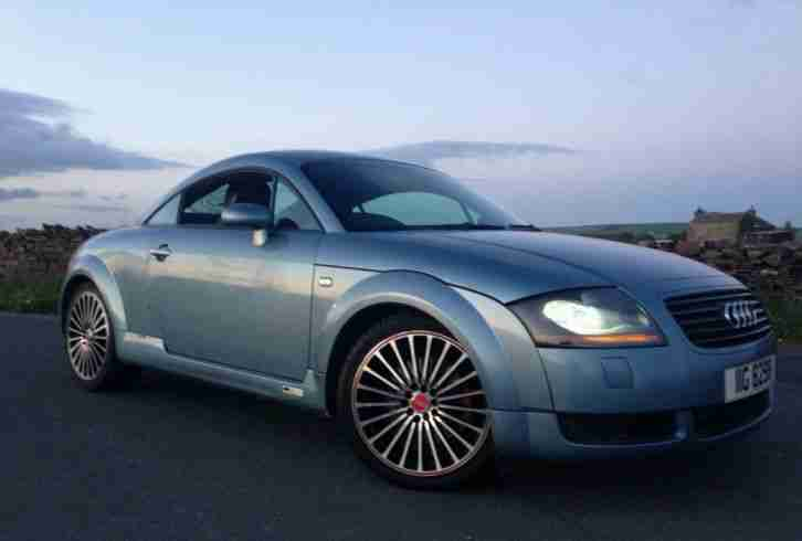 audi 2003 tt quattro 180 coupe blue 6 speed remapped to 225 bhp rare. Black Bedroom Furniture Sets. Home Design Ideas