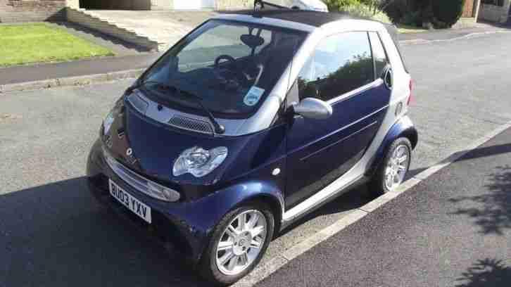 smart 2003 auto car fortwo convertible 700cc car for sale. Black Bedroom Furniture Sets. Home Design Ideas