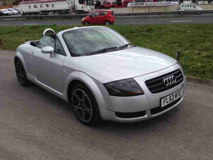 2003 TT Roadster (150BHP) NEW MOT 2