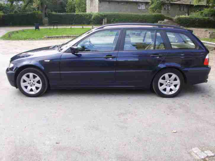 2003 BMW 318I SE TOURING AUTO, BLUE, 12 MONTH MOT, FULL SERVICE HISTORY,