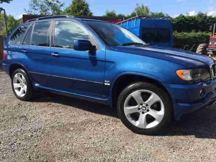bmw 2003 x5 blue petrol manual car for sale. Black Bedroom Furniture Sets. Home Design Ideas