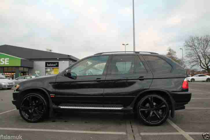 Bmw 2003 X5 Sport Diesel Automatic 22 Black Alloy Only