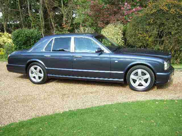 2003 Bentley Arnage T Mulliner Meteor Blue with private plate included