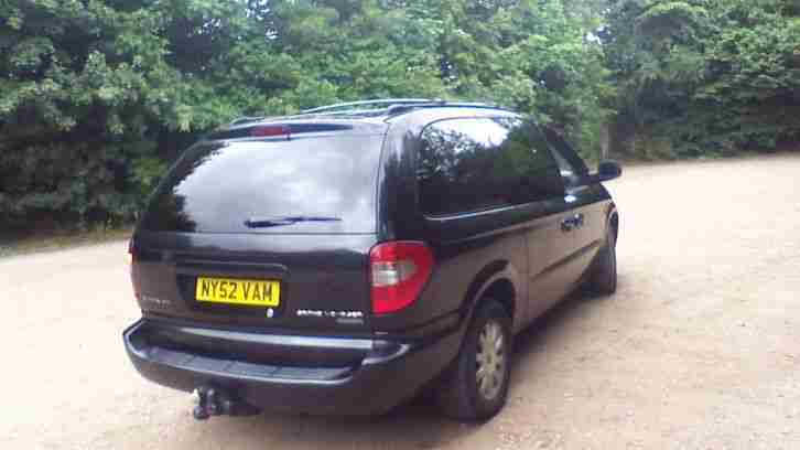 2003 CHRYSLER GRAND VOYAGER CRD LX BLACK