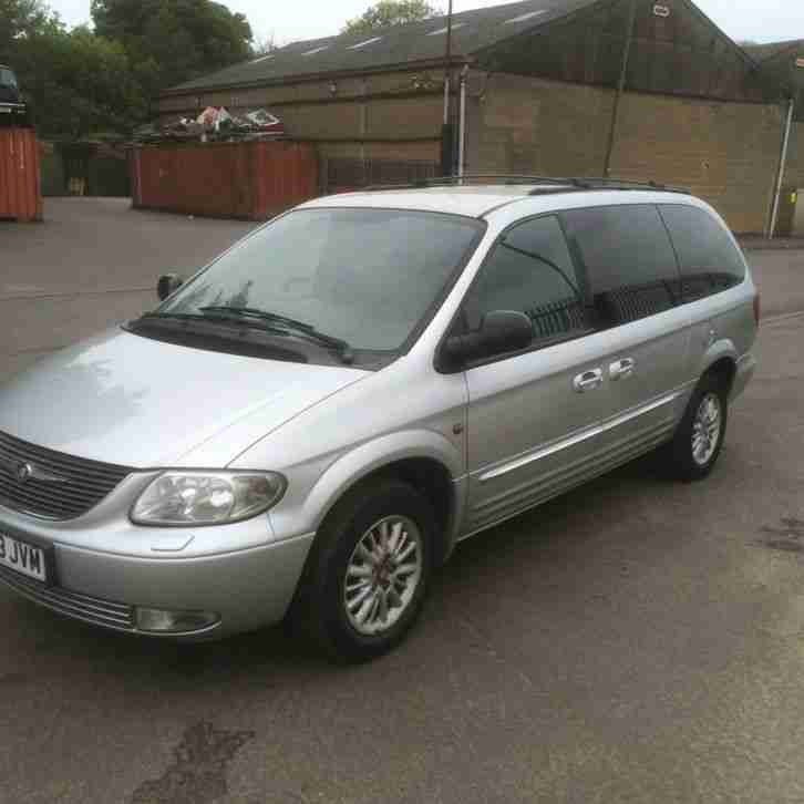 Chrysler 2003 GRAND VOYAGER LIMITED AUT SILVER 3.3 PETROL