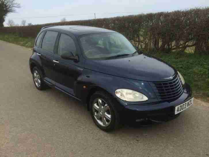 chrysler 2003 pt cruiser 2 2 crd touring 5dr car for sale. Black Bedroom Furniture Sets. Home Design Ideas