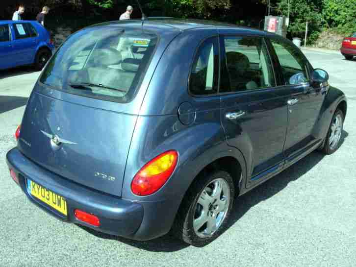 2003 CHRYSLER PT CRUISER LIMITED 2.2 CRD, TURBO DIESEL, LEATHER, LONG MOT, VGC