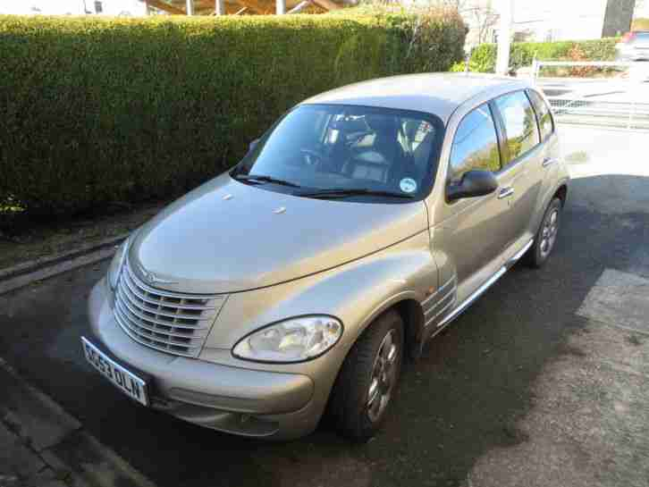 chrysler 2003 pt cruiser limited crd beige 2 2ltr diesel. Black Bedroom Furniture Sets. Home Design Ideas