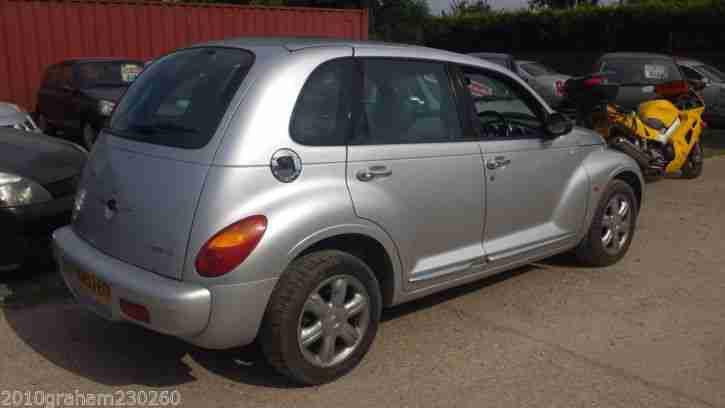 2003 CHRYSLER PT CRUISER LTD CRD 2.2 DIESEL.MOT JULY 2015