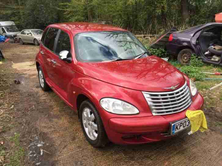 2003 PT CRUISER TOURING 2.2l CRD RED