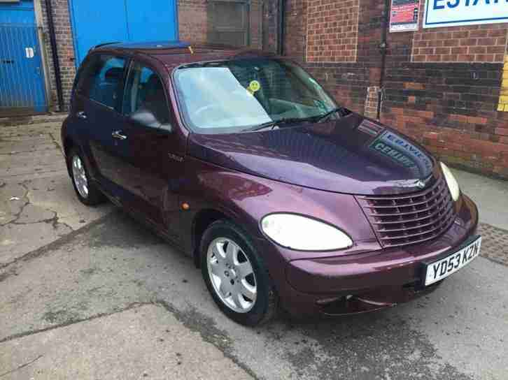 2003 CHRYSLER PT CRUISER TOURING CRD RED-No Reserve