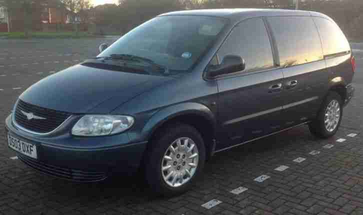 2003 VOYAGER 7 SEATER 2.5 DIESEL MPV