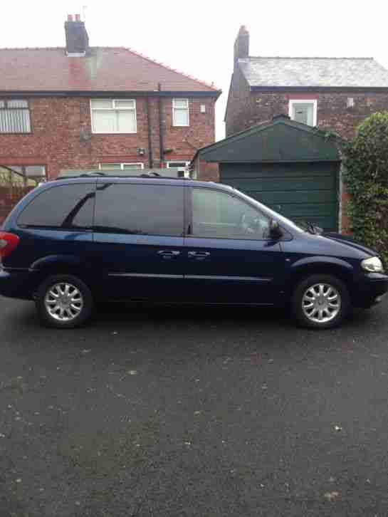 2003 CHRYSLER VOYAGER CRD LX BLUE
