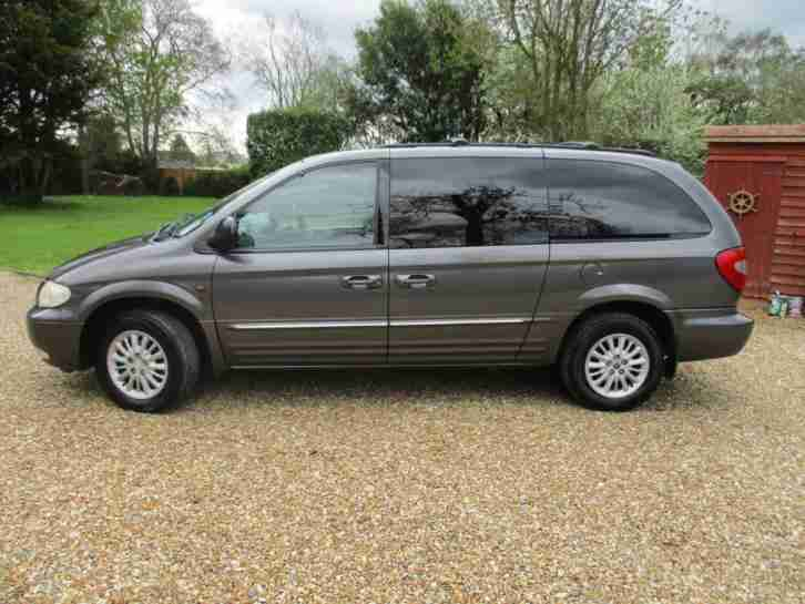 2003 Chrysler Grand Voyager 2.5CRD Limited 7 SEATER