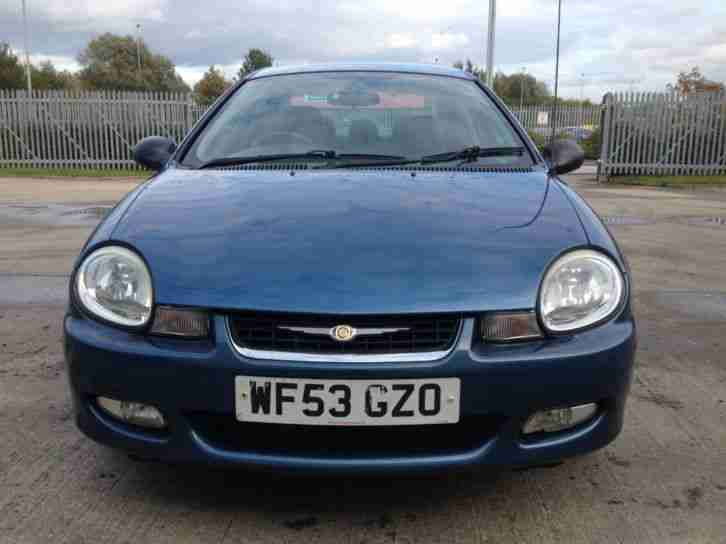 2003 Chrysler Neon 2.0 LX * FULL Leather seats * A/C * Cruise Control *