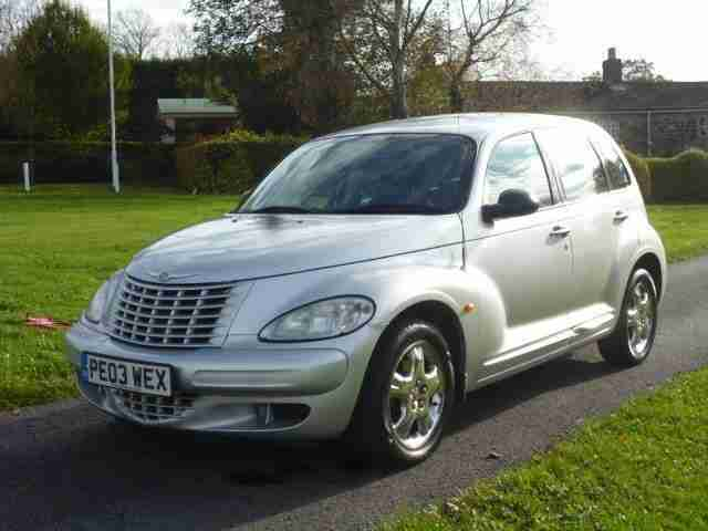 chrysler 2003 pt cruiser 2 2 crd classic 5dr car for sale. Black Bedroom Furniture Sets. Home Design Ideas