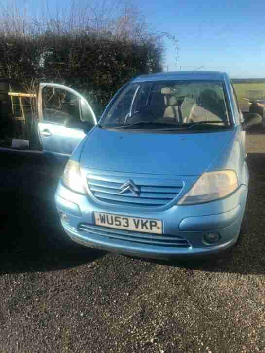 2003 Citroen C3 1.4 HDI spares or repairs, £30 tax no reserve