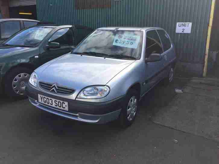 Citroen Saxo. Citroen car from United Kingdom